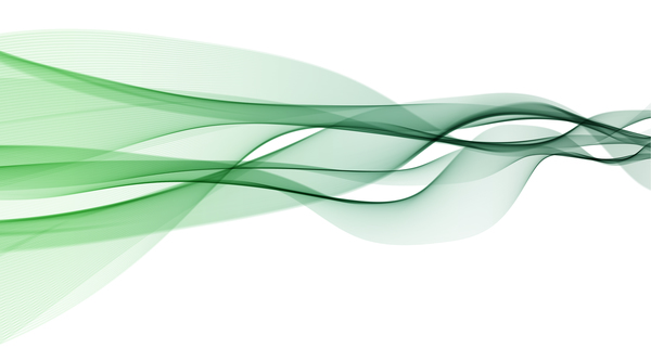 600x333 Green Abstract Wavy Lines Vector Free Download