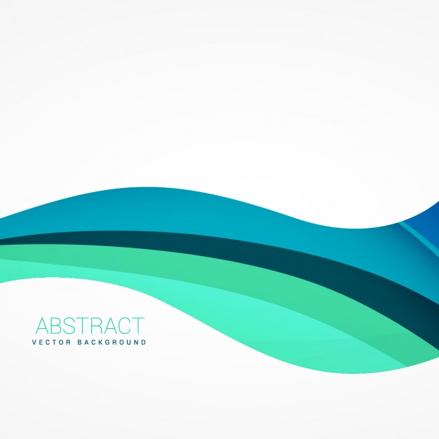 626x626 Wavy Background In Blue Tones Vector Free Download