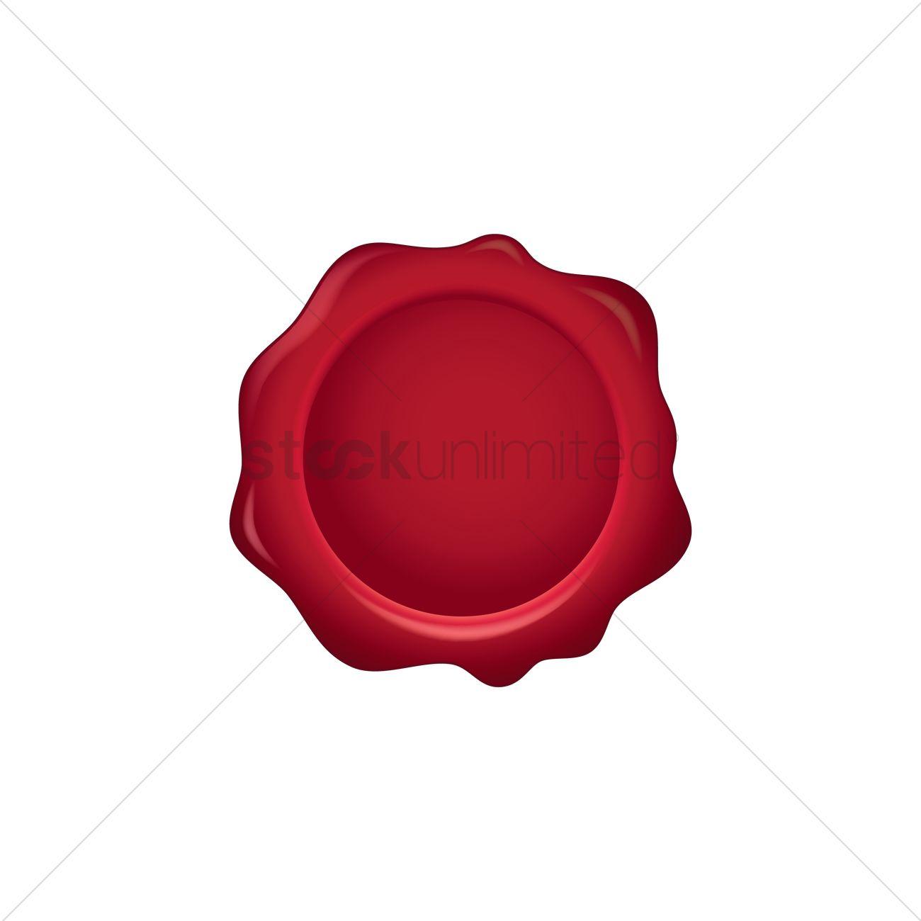 1300x1300 Wax Seal Vector Image