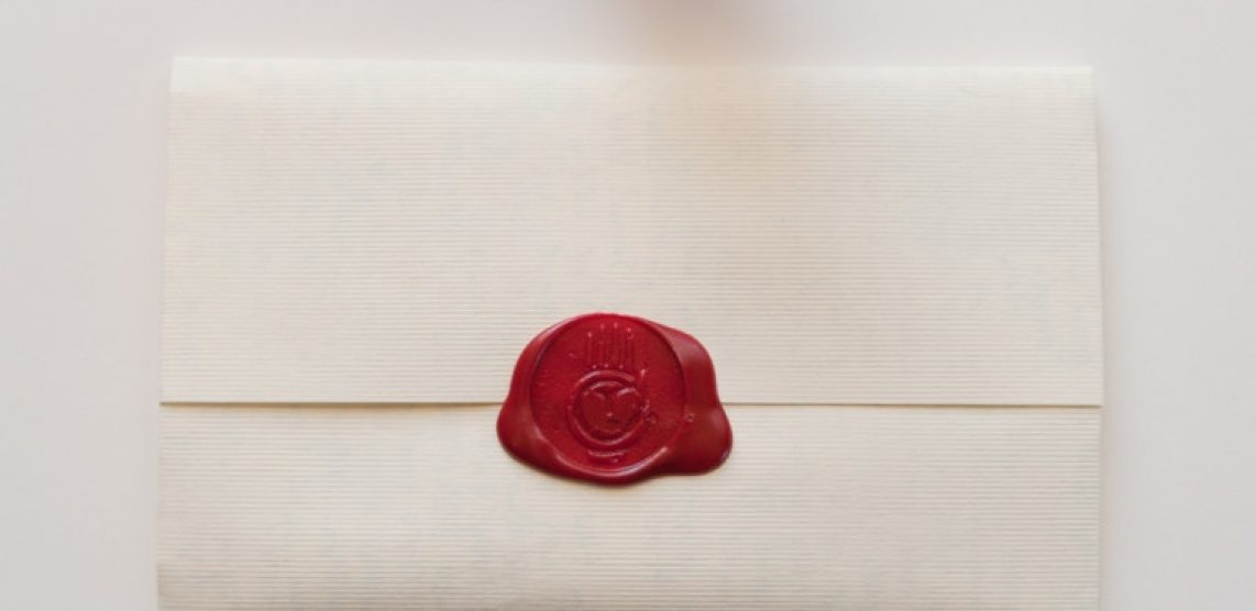 1142x556 Wax Sealed Letter Mail Envelope Or With Seal Stamp Vector Expert