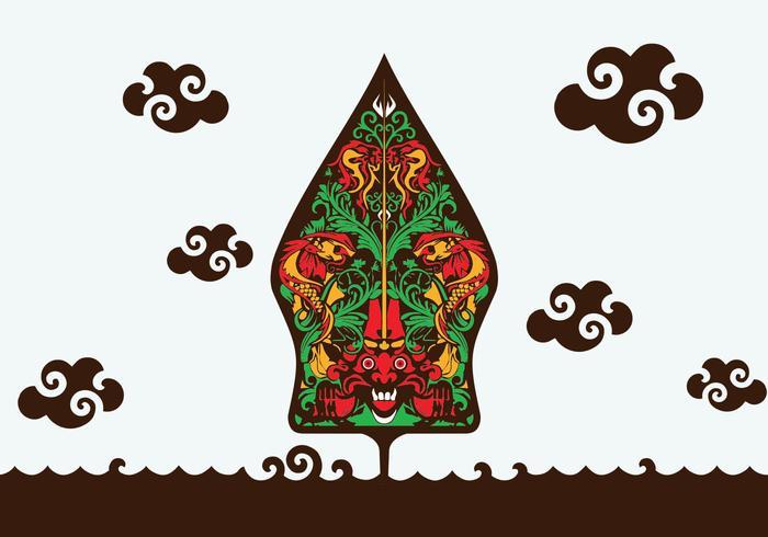 700x490 Illustration Of Gunungan Wayang