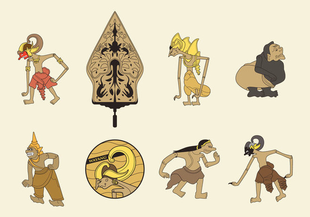 632x443 Free Wayang Vector Free Vector Download 409945 Cannypic
