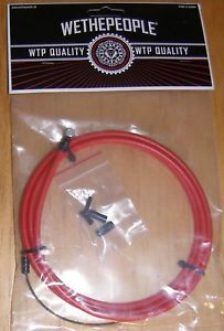 203x300 We The People Vector Bmx Brake Cable, Straight Wire, Choose From