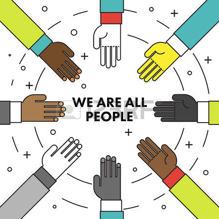 450x450 We Are The People Clipart