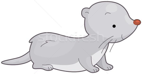 600x313 Weasel Vector Illustration Lenm ( 558233) Stockfresh