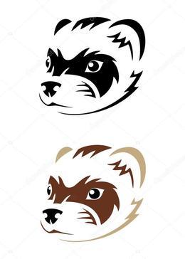260x364 Download Vector Graphics Clipart Ferret Illustration,weasels