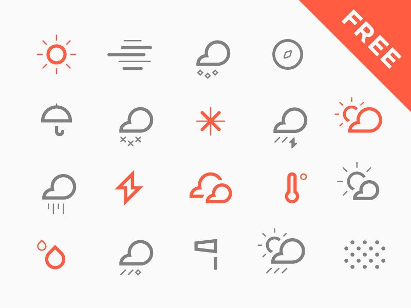 800x600 The Best Free Weather Vector Icon Sets Hipsthetic