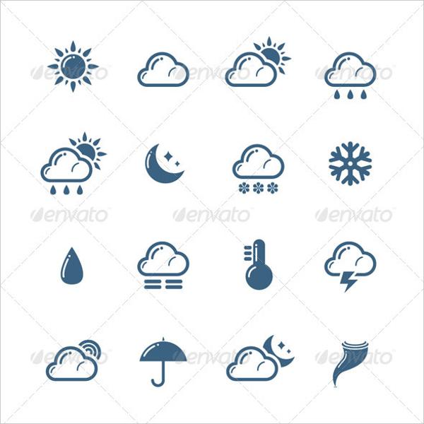 600x600 Weather Icons