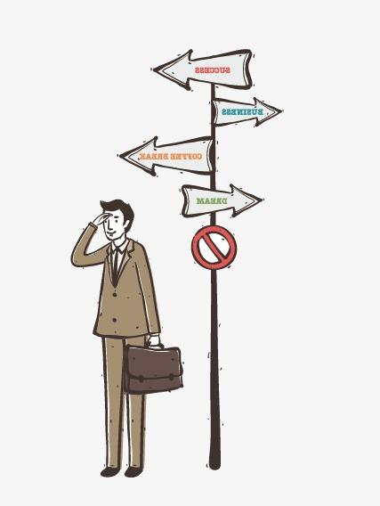 427x568 Business People Illustration Cartoon Weather Vane, Business Vector