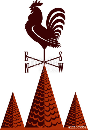 340x500 Rooster Weather Vane Stock Image And Royalty Free Vector Files On