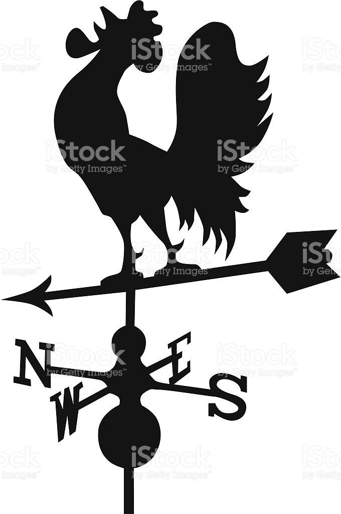 680x1024 Drawn Rooster Rooster Weathervane