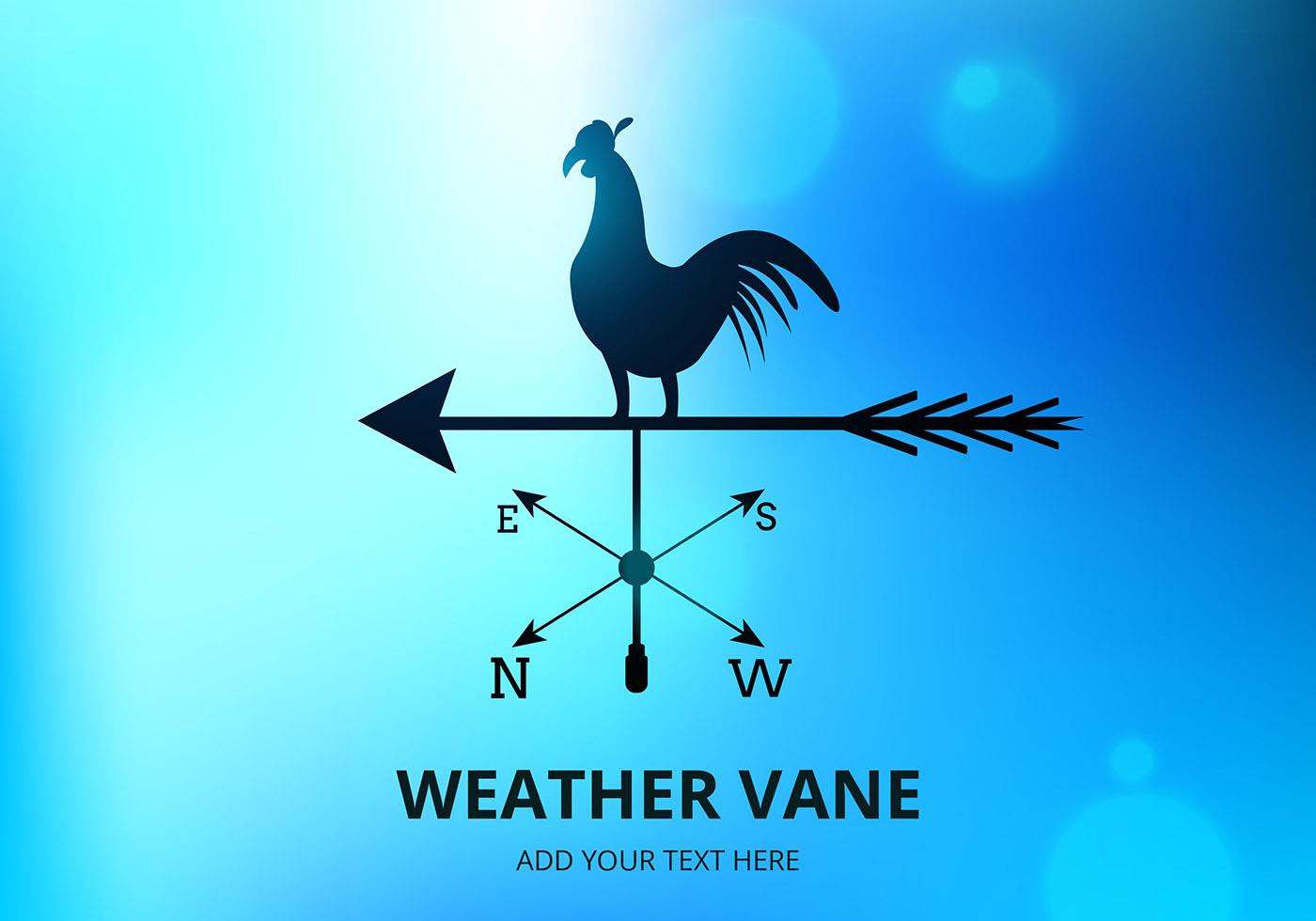 1400x980 Free Vector Weather Vane Vector