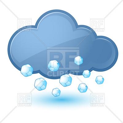400x400 Cloud With Hail