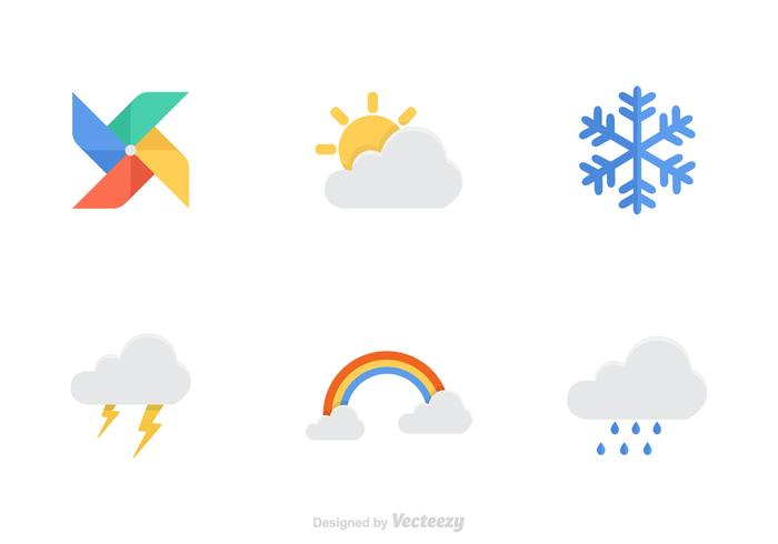 700x490 Free Weather Vector Icons