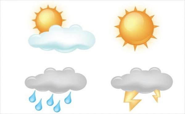 600x371 Weather Icons