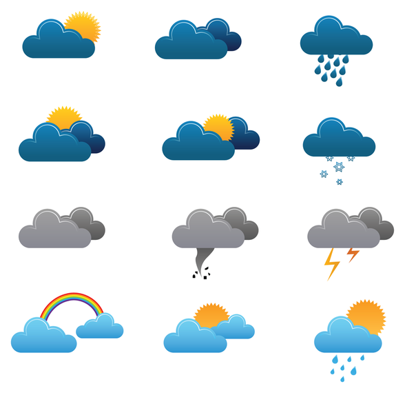 588x570 Free Weather Vector Icons 3