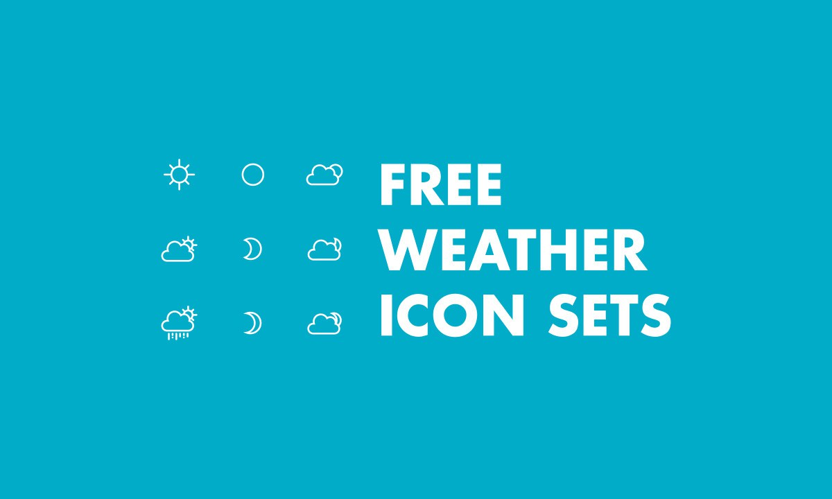 1200x720 The Best Free Weather Vector Icon Sets Hipsthetic