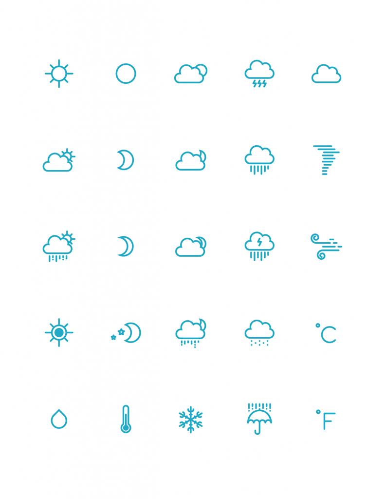 791x1024 The Best Free Weather Vector Icon Sets Hipsthetic