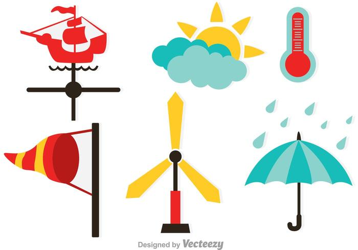 700x490 Weather Vector Icons