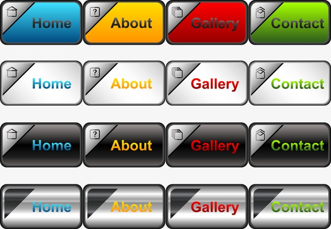 650x451 Vector Buttons, Push Button, Vector, Web Design Png And Vector For