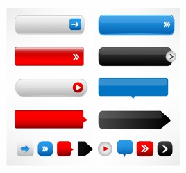268x249 Vector Blank Button Vectors Stock For Free Download About (22