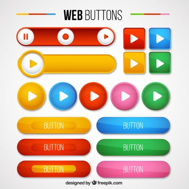 626x626 Buttons Vectors, +11,600 Free Files In .ai, .eps Format