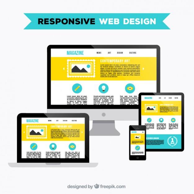 626x626 Responsive Web Design Vector Free Download