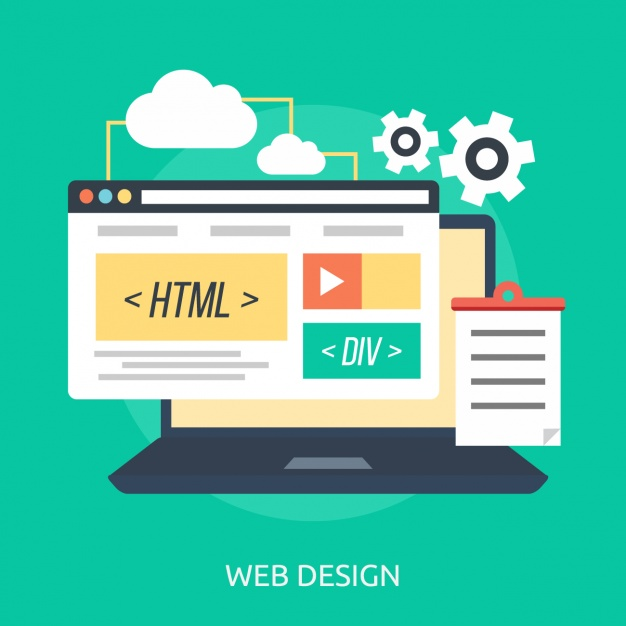 626x626 Web Design Background Vector Free Download