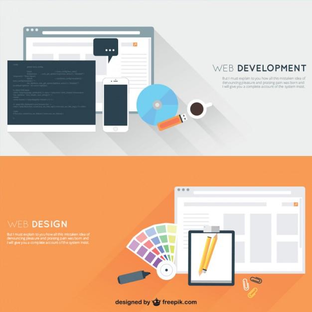 626x626 Web Development And Design Vector Free Download