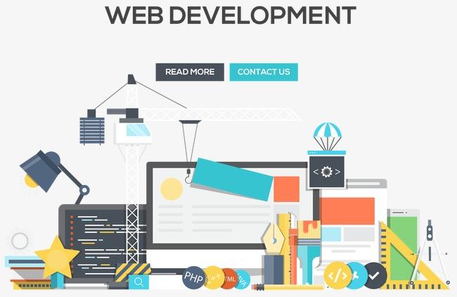 650x422 Vector Icon Web Development, Encyclopedias Flat Design, Vector