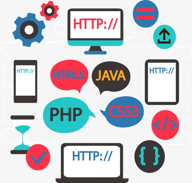 650x619 Web Development Package Group., Flat, Classification And Labelling