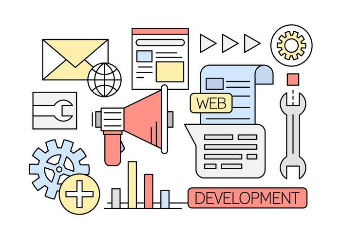 700x490 Linear Web Development Vectors