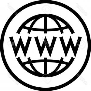 300x300 Stock Photo Internet Globe Www Icon With Arrow Cursor World Wide