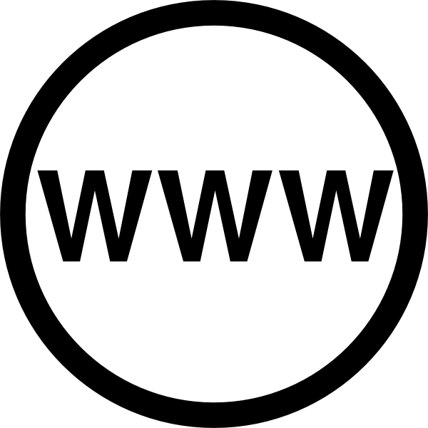 600x600 Web Logo Web Logo Clip Art At Clker Vector Clip Art Online Royalty