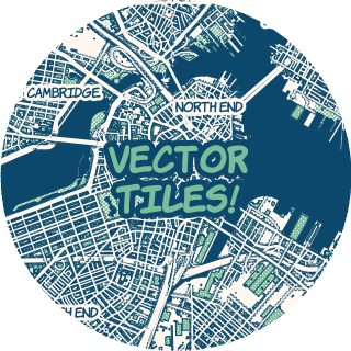 320x320 Vector Tiles For Mapbox Streets Points Of Interest
