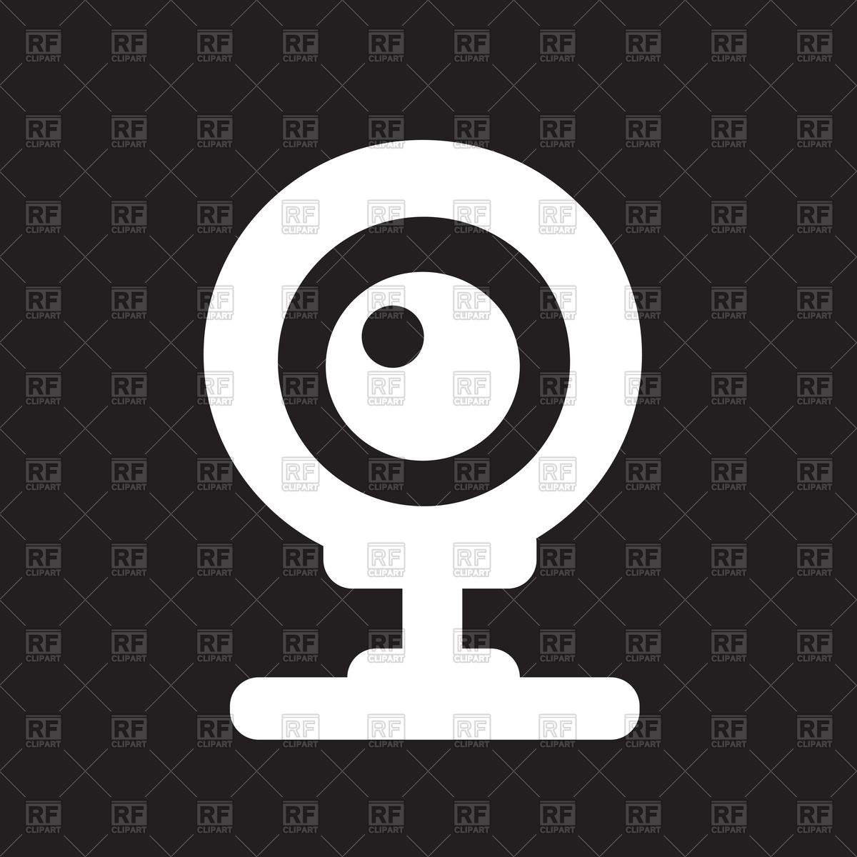 1200x1200 Webcam Icon Vector Image Vector Artwork Of Technology Tumdee