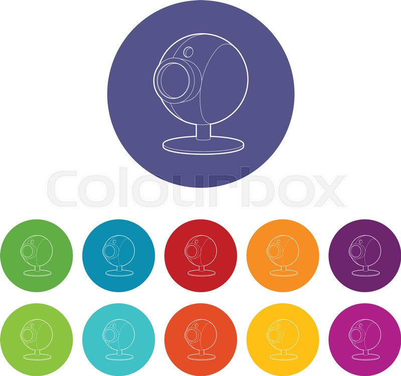 800x749 Webcam Icon. Isometric 3d Illustration Of Webcam Vector Icon For