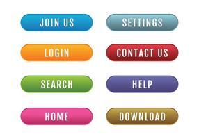 286x200 Web Button Free Vector Art