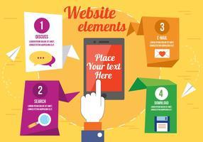 286x200 Website Button Free Vector Art