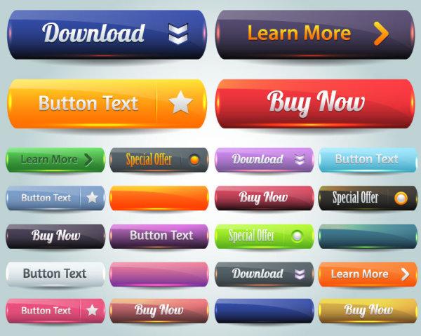 600x479 Website Button Vector Ii