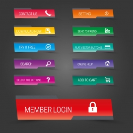 268x268 Website Buttons Vectors Stock For Free Download About (96) Vectors