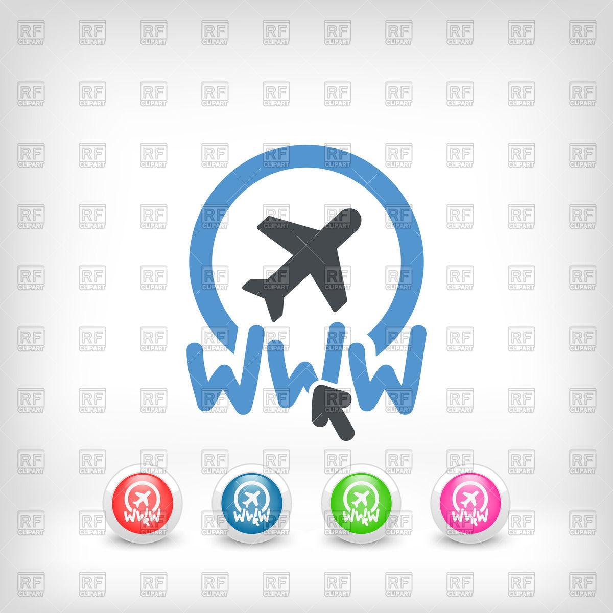 1200x1200 Website Travel Agency Icon Vector Image Vector Artwork Of Travel
