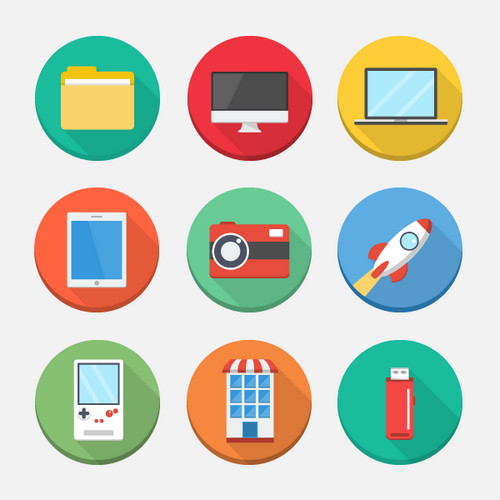 500x500 Free High Quality Vector Web Icon Sets