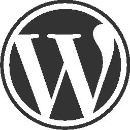 256x256 Wordpress Circular Website Logo Vector Logo Icons