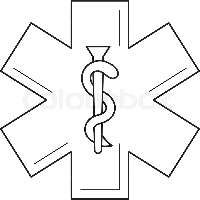 800x800 Health Care Medical Symbol Vector Line Icon Isolated On White