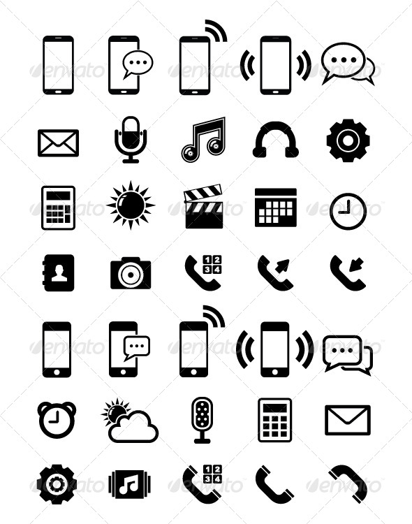 590x750 Phone Email Web Icon Free Icons