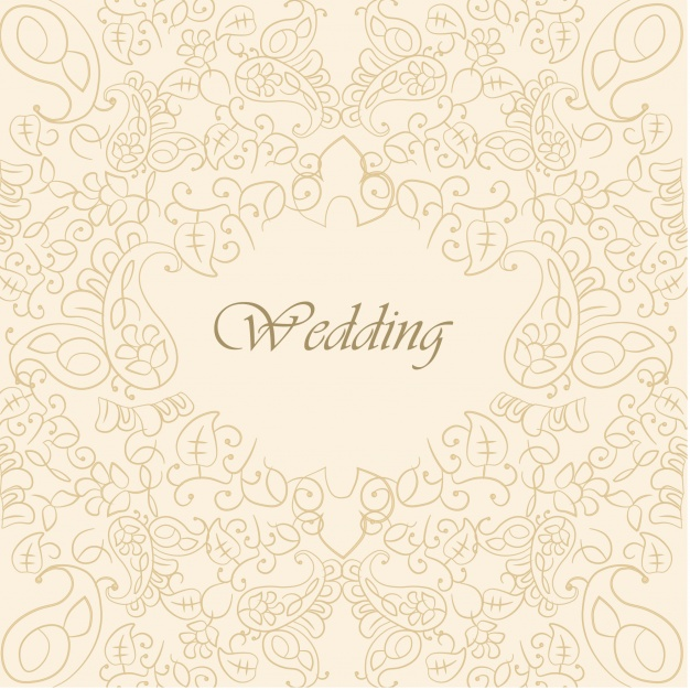 626x626 Beautiful Wedding Background Vector Free Download