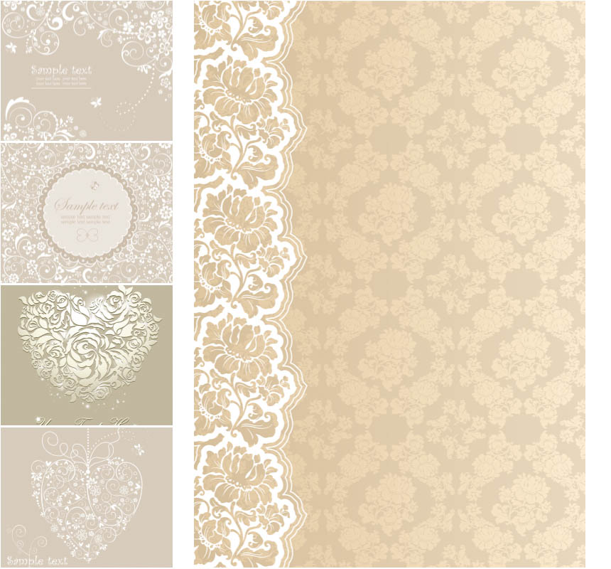 860x800 Beige Wedding Background Vector Free Vectors Amp Images In Eps And
