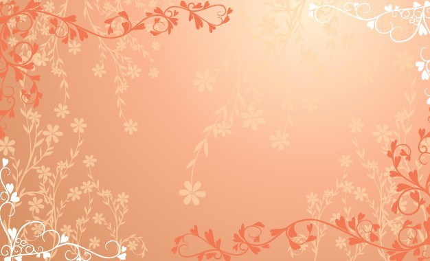 626x380 Free Red Floral Wedding Background Vector