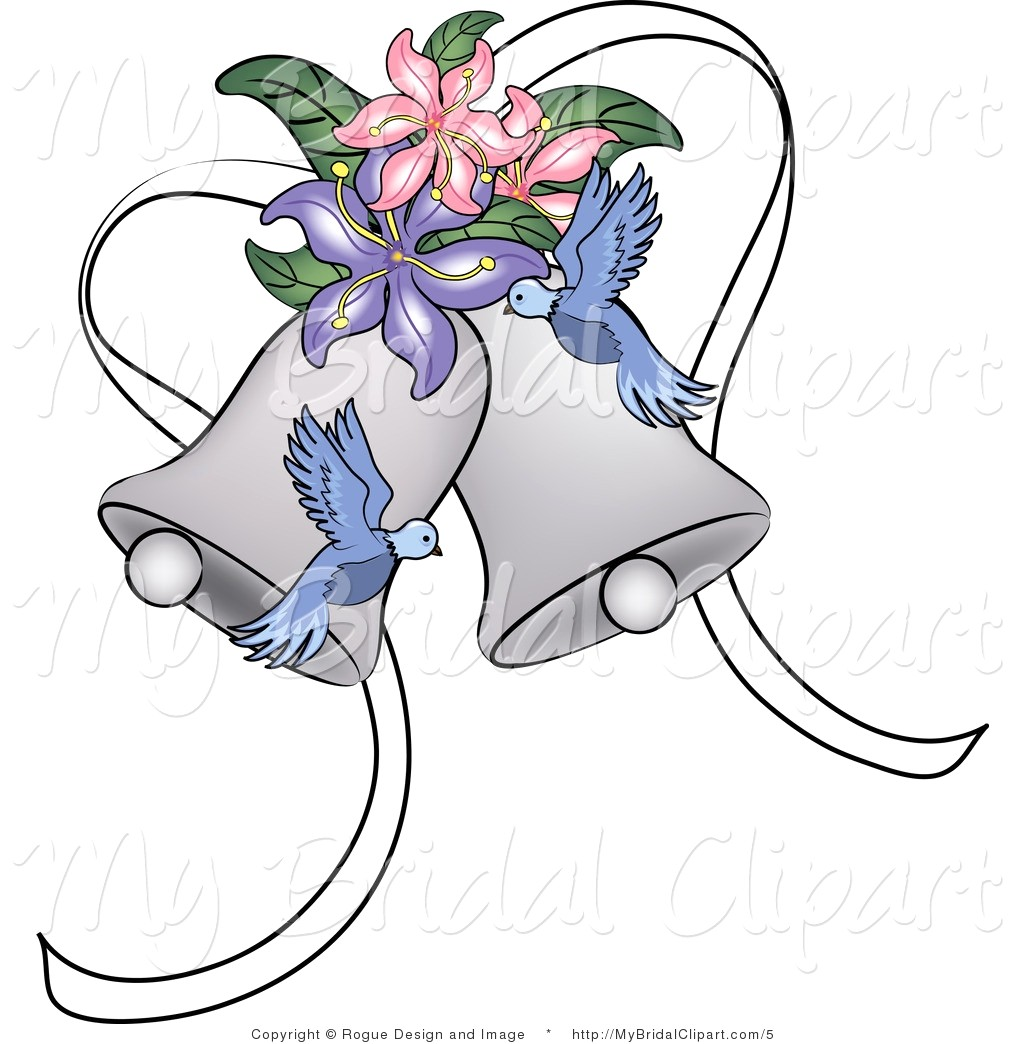 1024x1044 Wedding Bells Clipart 15 A Bridal Vector Of Silver Doves And